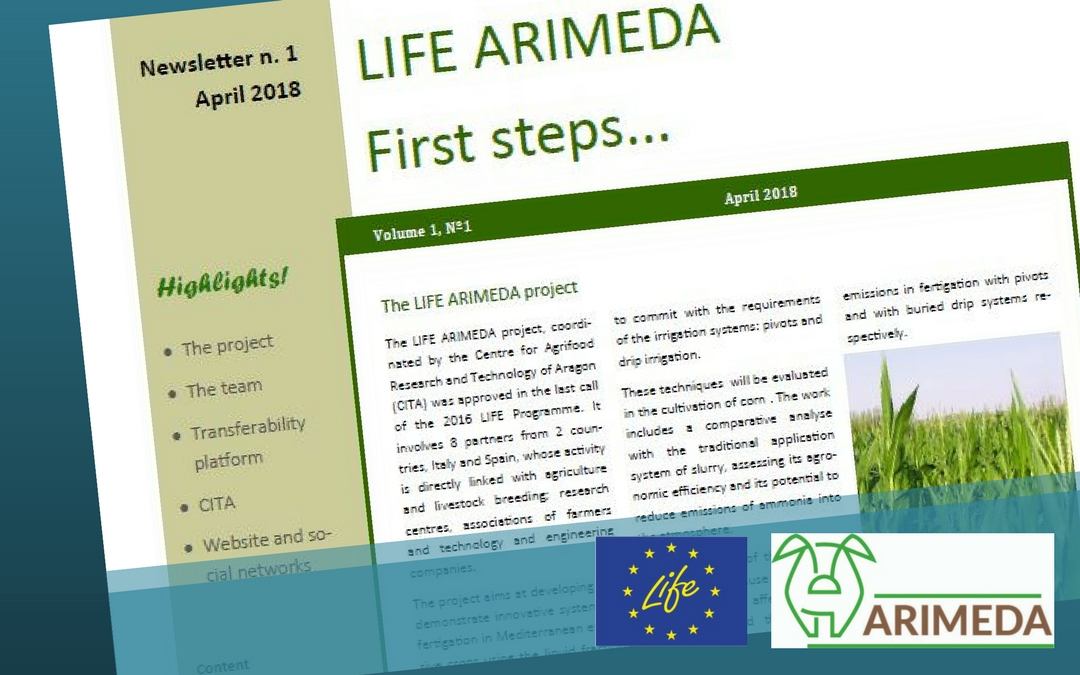 1° newsletter ARIMEDA