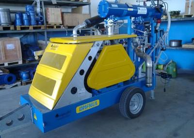 Acquafert impianto motopompa alta portata per impianti a goccia