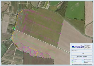 Acquafert schema Progetto irrigazione agricola