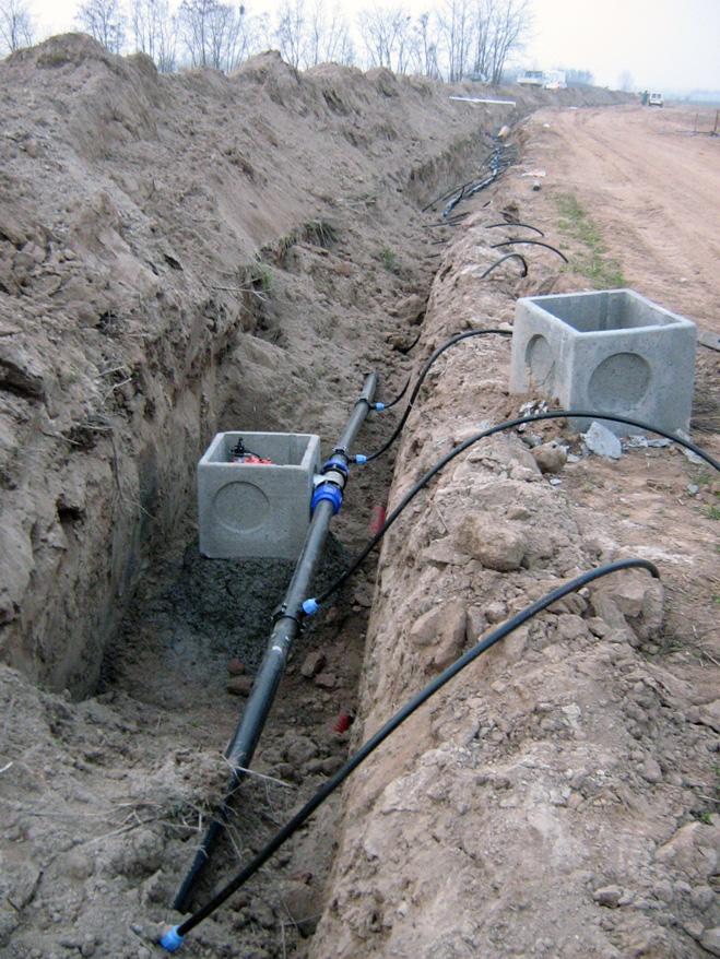 Acquafert Subirrigazione particolare testate