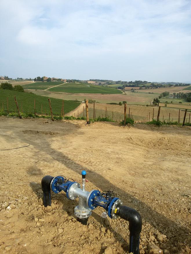Acquafert Subirrigazione vite foto 3