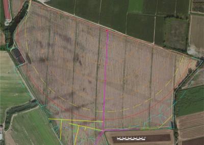 Acquafert schema progetto impianto pivot e completamento a getti fissi