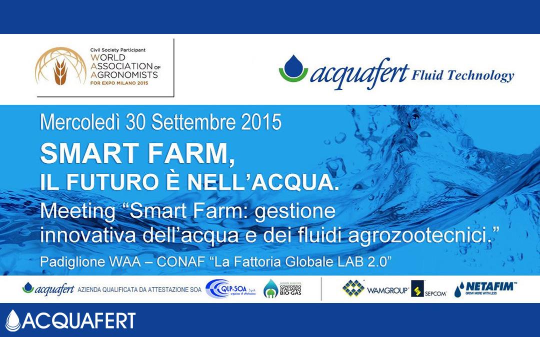 Smart Farm, il futuro è nell'acqua