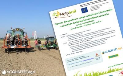 Acquafert sperimenta pratiche di agricoltura sostenibile