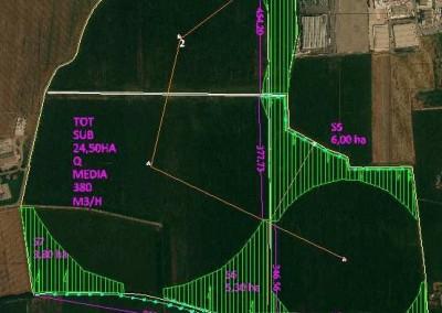 Fase di studio per subirrigazione - ACQUAFERT Agri