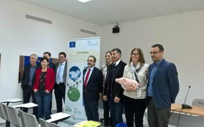 Primo meeting per i partner del progetto europeo LIFE ARIMEDA