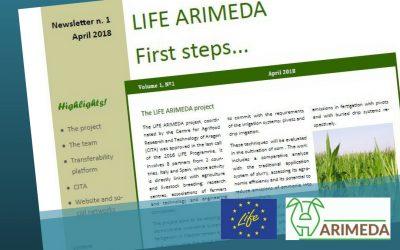 1° newsletter ARIMEDA