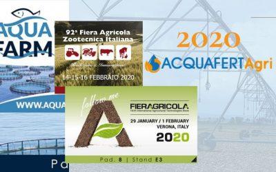 Il 2020 di ACQUAFERT Agri & Mech