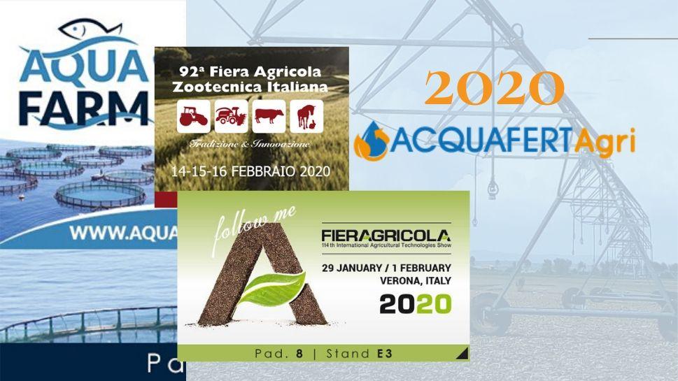 Appuntamenti 2020 Acquafert Agri