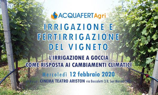 Acquafert Irrigazione agricola