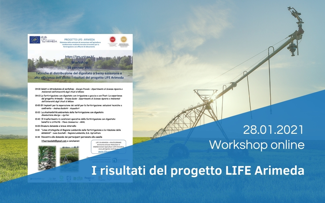 Workshop online LIFE ARIMEDA